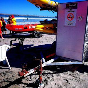 SURF LIFE SAVERS BEACH TRAILER